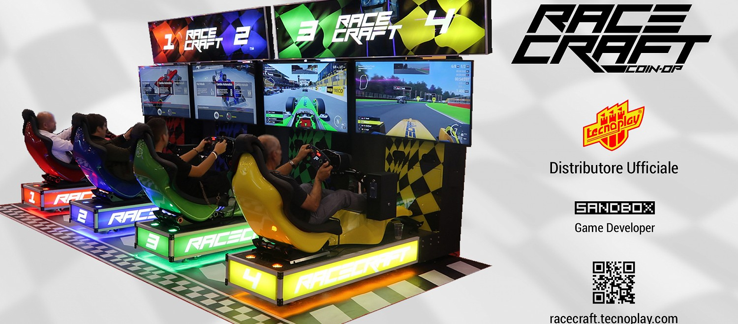 Tecnoplay to showcase its exciting driving game - Racecraft - at this year's EAG